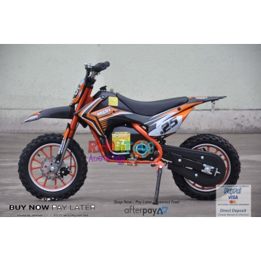Pre Order Orange Electric Dirt Bike 36V 500 Watt Motor 26/11/2018