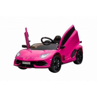 Hot Pink Licensed Lamborghini Aventador SVJ 12V
