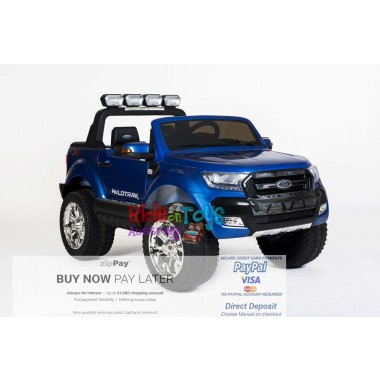 Pre- Order Licensed Metallic Blue  Ford Ranger 31/09/19