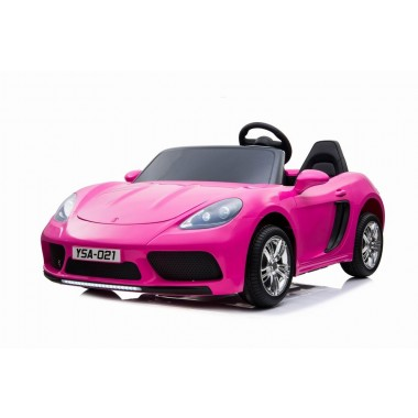 Custom - Order Large Car Porsche Replica Hot Pink 24volt XXL 2 Seater