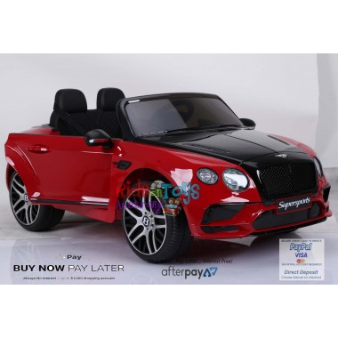 New Licensed Bentley Continental 2 Seater In Stock