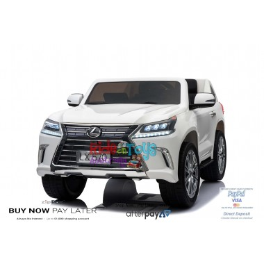 licensed Lexus LX- 570 White In Stock
