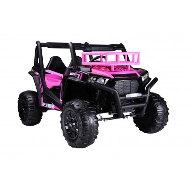 New Pink UTV 1000R Buggy True 24 Volt Ride On Car