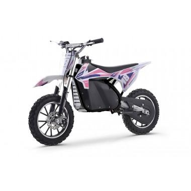 Pink Electric Dirt Bike 36V 500 Watt Motor